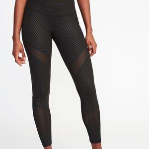 Old Navy Pants - Old Navy Mesh Insert Leggings